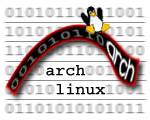 Arch Ribbon Logo 4
